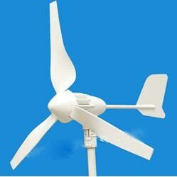 400W wind turbine for solar wind street light