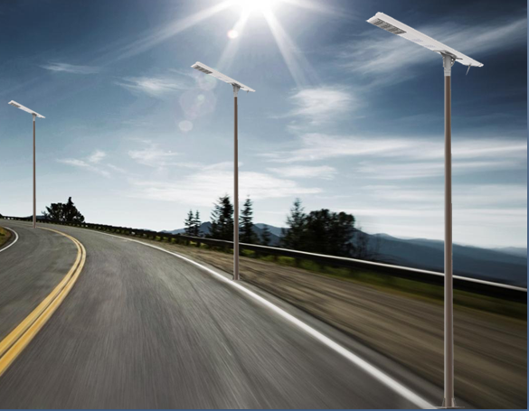 The 16000set project of led solar street light in Southeast Asia