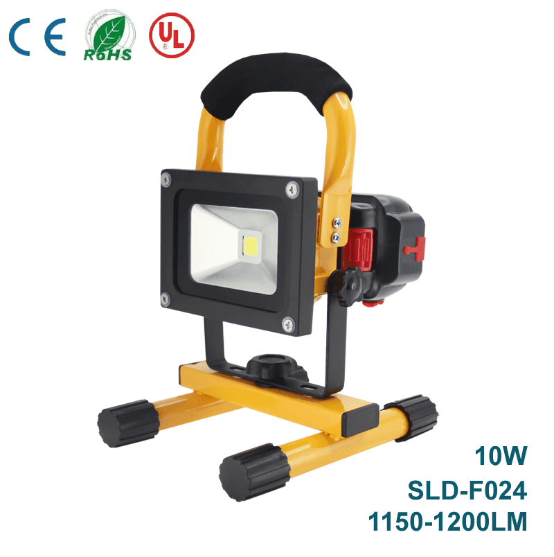 Portable Rechargeable LED Flood Lights SLD-F024 10W