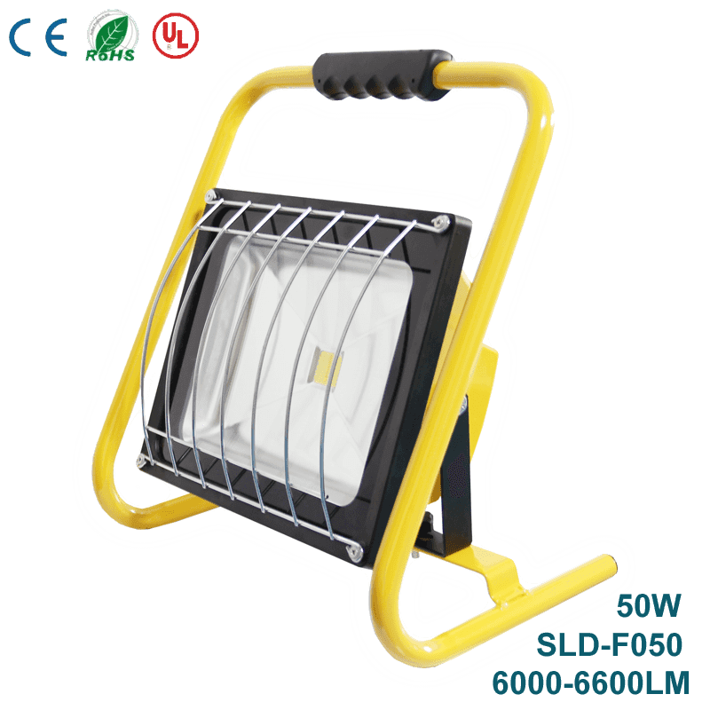 Rechargeable Super Bright Outdoor LED Flood Lights SLD-F050  50W