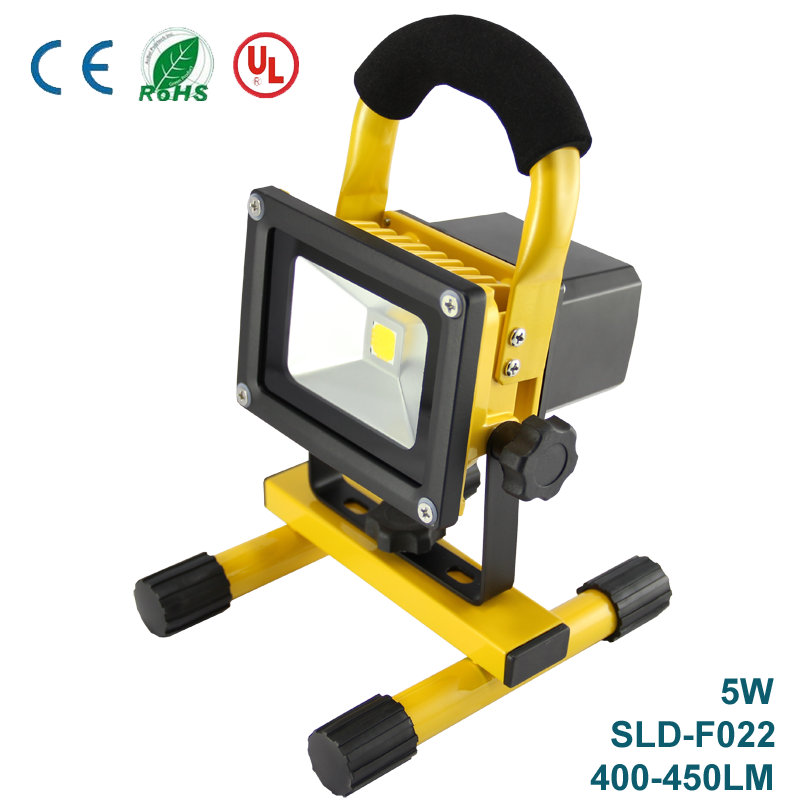 Portable Rechargeable Cordless Mobile LED Work Site Flood Light Fishing Camping