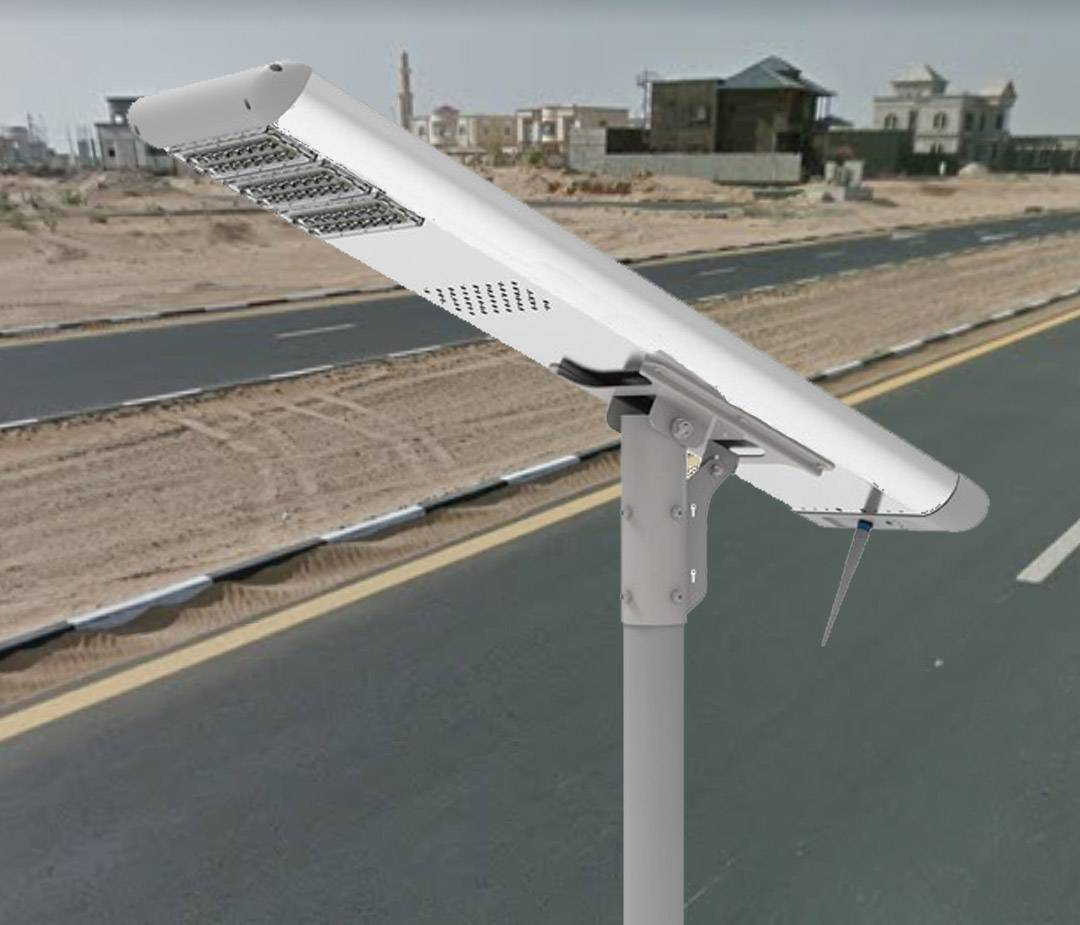 5 Years Warranty Outdoor Waterproof Ip65 Integrated Led Solar Street Light 6000LM