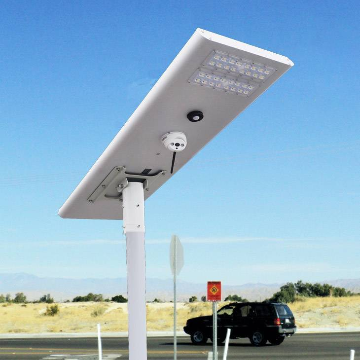 Newly Developed Integrated Solar Street Lights With CCTV Camera Solar Camera