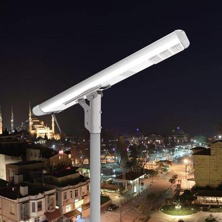 High lumen wireless control intelligent led solar powered street light for sale