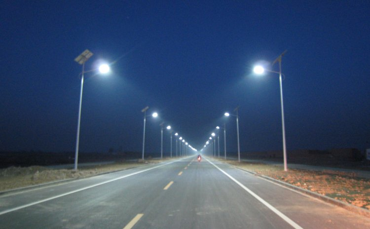 Project of solar led street light SLD-SLA 60W