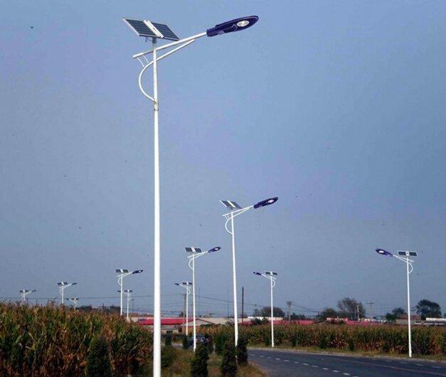 Installation site of led street lights