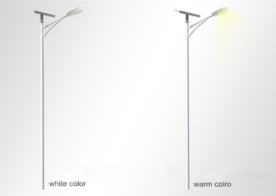 Colour temperature of led street light