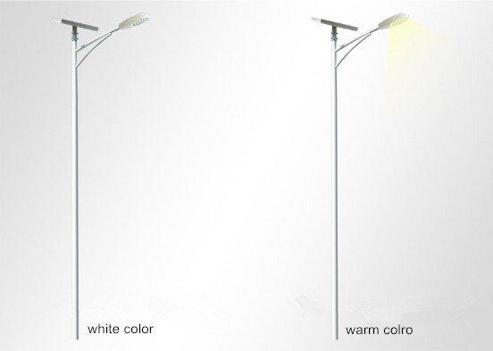 Colour temperature of led street light