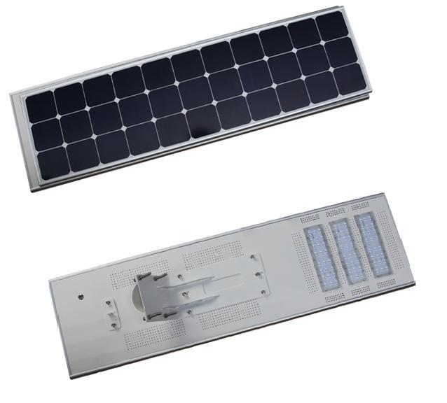 70W 80W All In One Solar Led Street Light