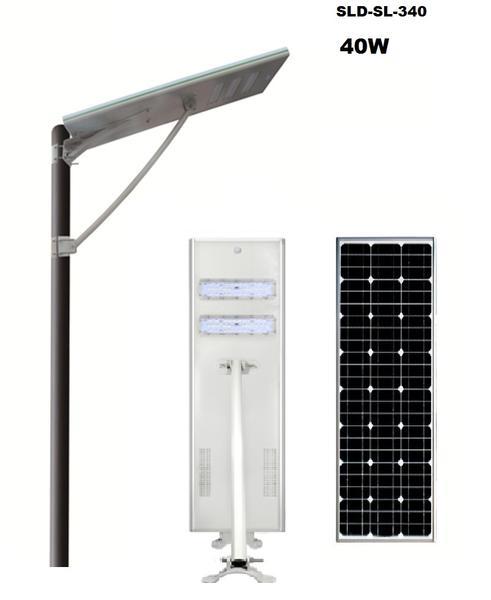 SLD-SL-340 40W All In One Solar Street Light
