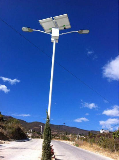 7M 35W Double Arm brightnest Solar Street Light