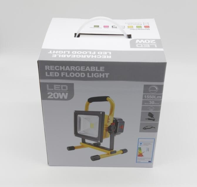 Packing box of Recharageble led flood light