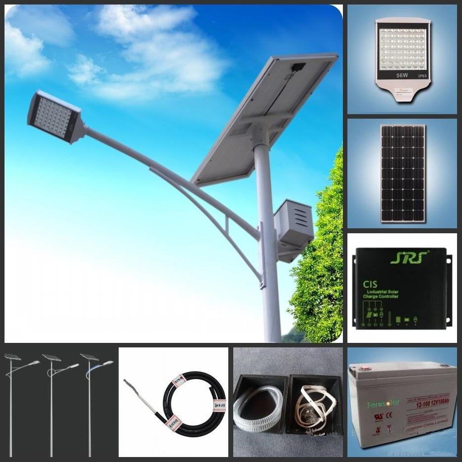 6M 28W Solar Street Light