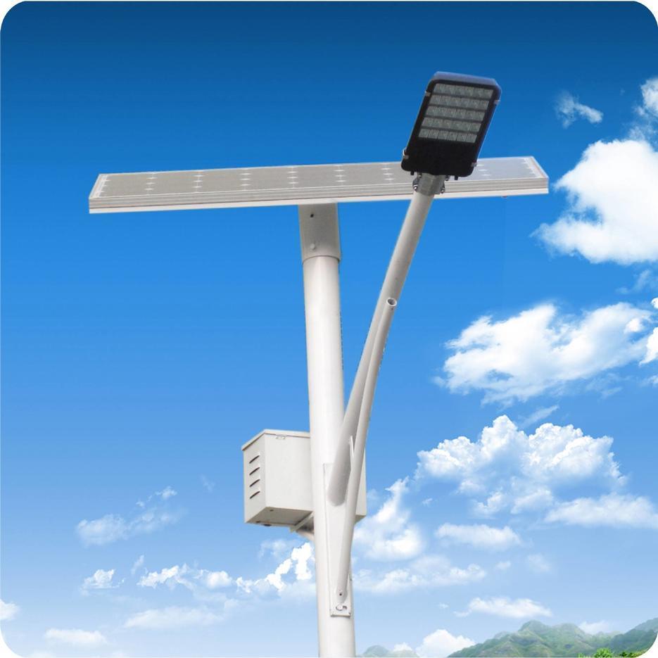 8M 50W Solar Street Lights